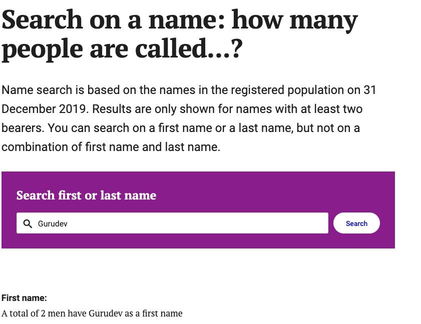 Immigrant Name